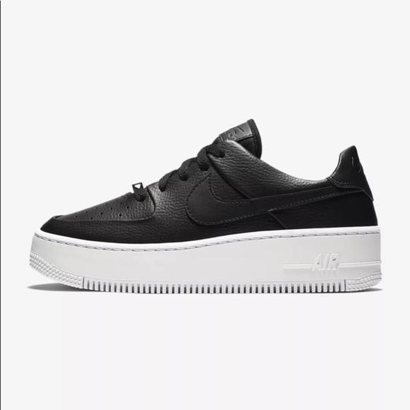 Nike Shoes   Nike Air Force Sage Black